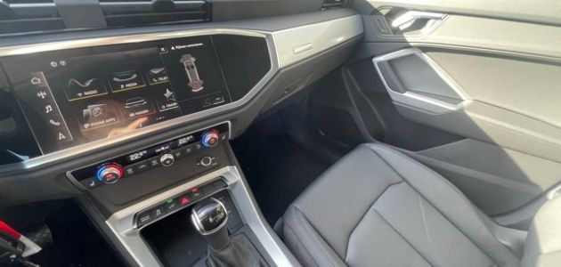 Audi Q3 45 TFSI e Floretzilver Coast Motors Knokke