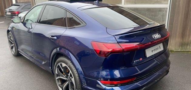 Audi Etron S Sportback Coast Motors Knokke